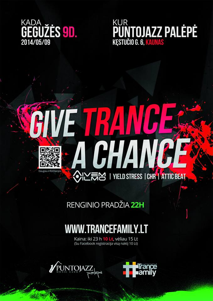 Give Trance A Chance